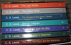 CHRONICLES of NARNIA. 7 Volumes Boxed Set.: LEWIS, C.S.