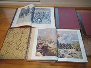 LE PANORAMA DE LA GUERRE 1914-1917. 5 Volumes.: LEVEQUE, HENRI & COLLECTIF