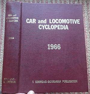 1966 CAR and LOCOMOTIVE CYCLOPEDIA of AMERICAN: COMBES, C.L.et al