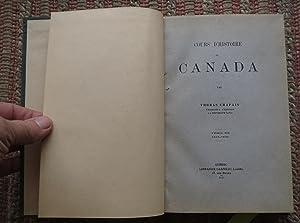 Cours D'histoire Du CANADA: Tome III 1815-1833: CHAPAIS, THOMAS