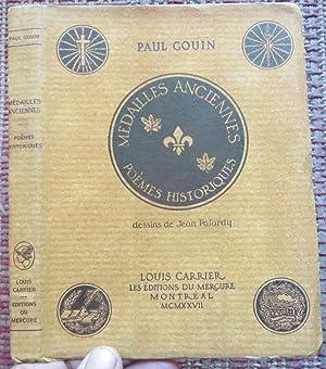 MÉDAILLES ANCIENNES. POÈMES HISTORIQUES: GOUIN, PAUL