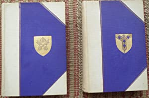 The CATHEDRALS OF ENGLAND. 2 VOLUMES. FIRST & SECOND SERIES