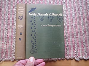 WILD ANIMALS I HAVE KNOWN: SETON, ERNEST THOMPSON