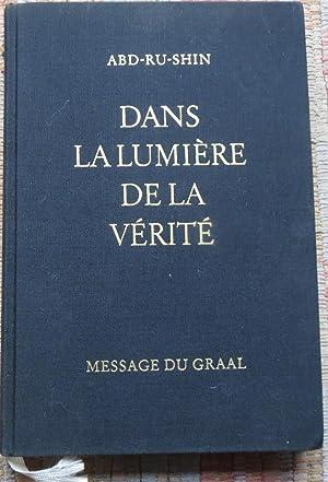 DANS La LUMIRE De VRIT Message ABD RU SHIN