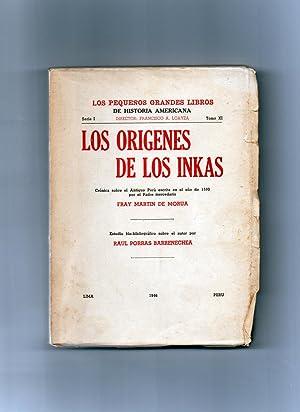 los origenes de los inkas: fray martin de