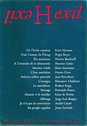 hexil,revue de litterature: collectif