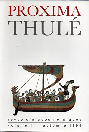 proxima thule,revue d etudes nordiques: francois-xavier dillmann,directeur