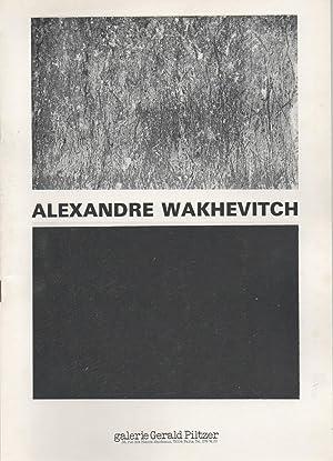alexandre wakhevitch: texte de marc