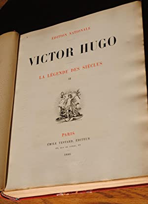 EDITION NATIONALE-ensemble complet de 43 volumes +1: Victor Hugo