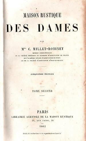 Maison rustique des dames-volumeII-: Mme C.Millet-Robinet