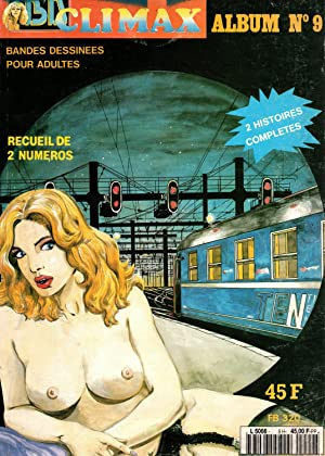 BD climax,album N°9,recueil de 2 numeros-BD pour: Hugdebert-WG Colber