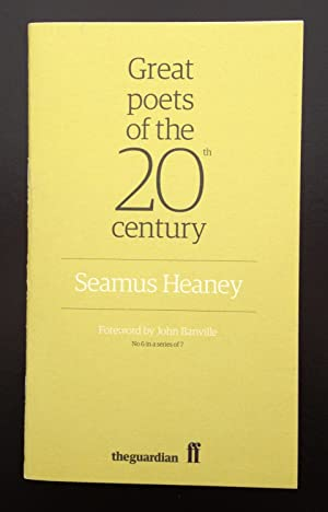 Great Poets Of The 20th Century:Seamus Heaney (Signed By Seamus Heaney): Heaney , Seamus