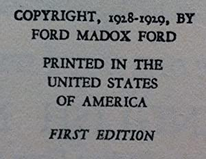 The English Novel (Inscribed and Signed By The Author To Ernest Rhys): Ford,Ford Madox