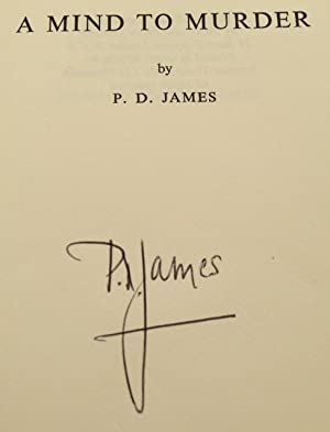 A Mind To Murder (Signed by Both P.D.James And Roy Marsden): James, P.D