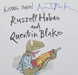 Trouble On Thunder Mountain (Signed By Russell Hoban and Sir Quentin Blake): Hoban, Russell and ...