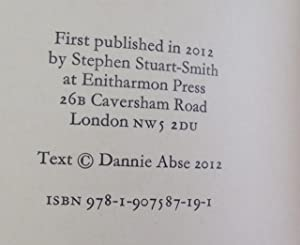 In Extra Time (Signed Limited Edition): Abse, Dannie