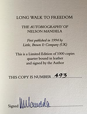 Long Walk To Freedom (Limited Signed Edition): Mandela, Nelson