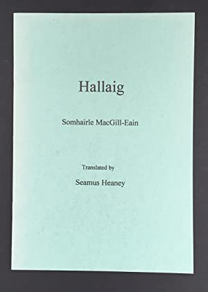 Hallaig (Signed By Seamus Heaney In The Year Of Publication)