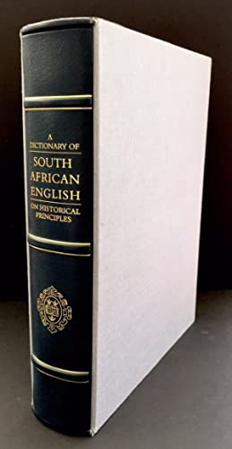 A Dictionary Of South African English On Historical Principles (Signed By Nelson Mandela)