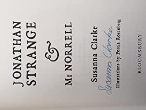 Jonathan Clarke And Mr Norrell (Signed By The Author) With A Scarce Limited Print Signed By The ...