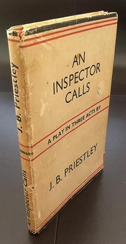 An Inspector Calls by J B Priestley, Hardcover - AbeBooks