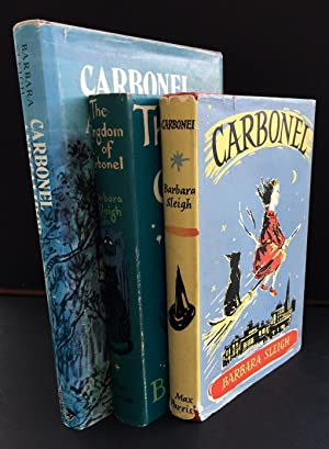 The Carbonel Trilogy : 'Carbonel', 'The Kingdom Of Carbonel', 'Carbonel ...