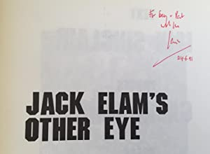 Jack Elam's Other Eye (Double Signed By The Author): Sinclair, Iain