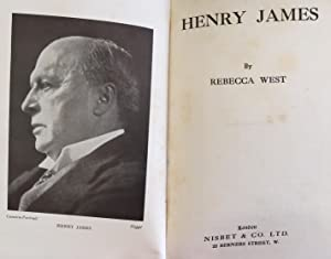 Henry James (Signed By The Author): West, Rebecca