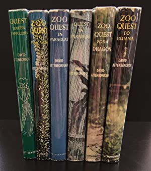 Complete Set: Zoo Quest To Guiana, Zoo Quest For A Dragon, Zoo Quest in Paraguay, Quest in Paradi...