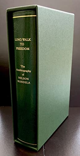 Long Walk To Freedom : Signed By The Author : Full Leather Limited edition