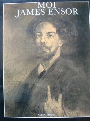 Moi James Ensor in-4,relié avec jaquette illustrée,270: Robert Hoozee/ Sabine