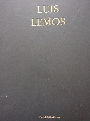 Luis Lemos in-4,relié,189 pages,illustrations en couleur pleine: Patrick Gilles Persin
