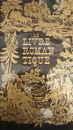Le livre romantique in-4,reliure toilée noir avec: Jean Adhémar et