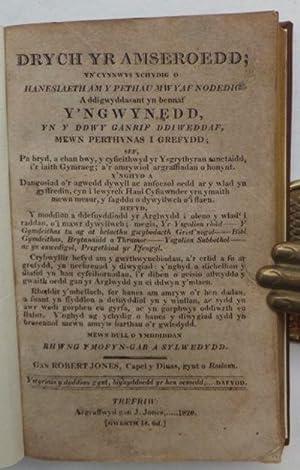 Drych yr Amseroedd;: JONES Robert 1745-1829