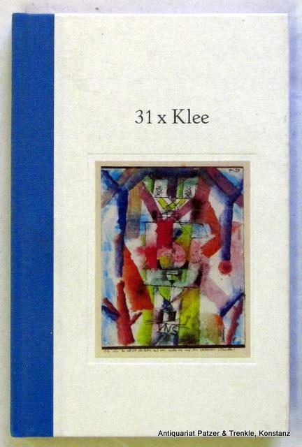 31 Bilder von Paul Klee mit Gedichten: Klee. -- 31