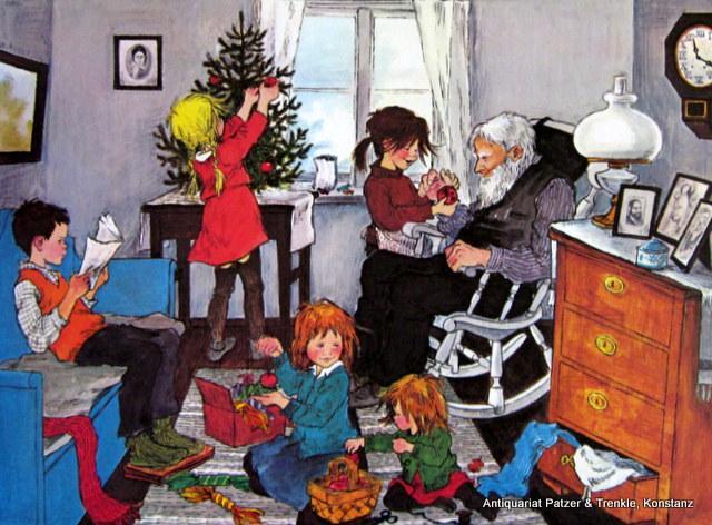 weihnachten in bullerbue von lindgren zvab. Black Bedroom Furniture Sets. Home Design Ideas