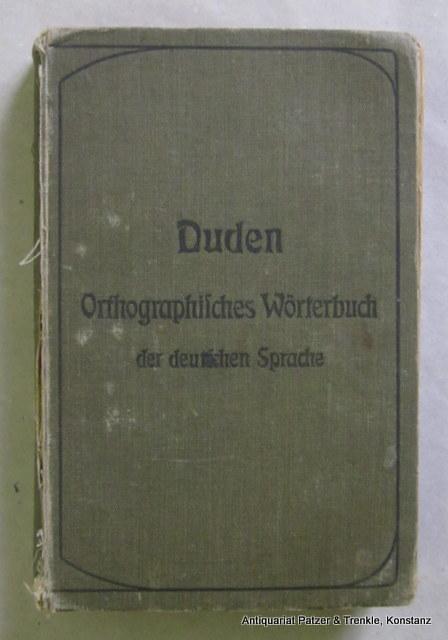 Konrad Duden Von Zvab