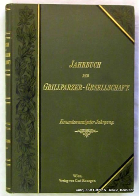 Literarische Geheimberichte aus dem Vormärz. (Einleitung, Anmerkungen,: Glossy, Carl (Hrsg.).