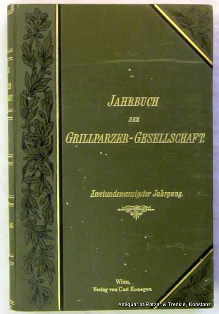 Literarische Geheimberichte aus dem Vormärz. I. Teil: Glossy, Carl (Hrsg.).