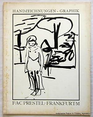 Katalog zur Versteigerung 95., II. Teil der: Prestel. -- Handzeichungen