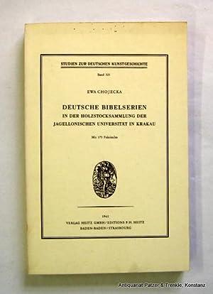 Deutsche Bibelserien in der Holzstocksammlung der Jagellonischen: Chojecka, Ewa.