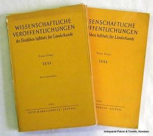Beiträge zur Geographie Tropisch-Afrikas. Erläuterungen zu einer: Schultze, Joachim H.