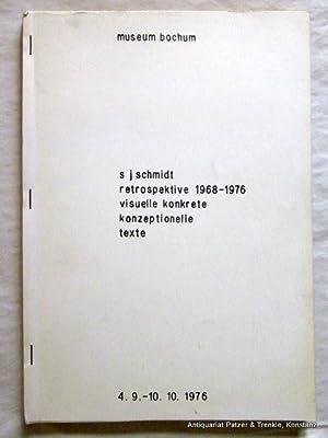 visuelle konkrete konzeptionelle texte. Museum Bochum 1976.: Schmidt. -- s.