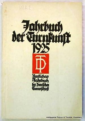 Jahrbuch der Deutschen Turnerschaft. 19. Jg. Herausgegeben: Jahrbuch der Turnkunst.