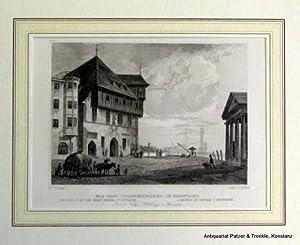 """Das Conciliumsgebäude in Constanz"""". Blick von der: Ansichten. -- Konstanz."""