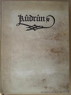 München, Hyperion-Verlag Hans von Weber, 1911. Fol.: Kudrun.