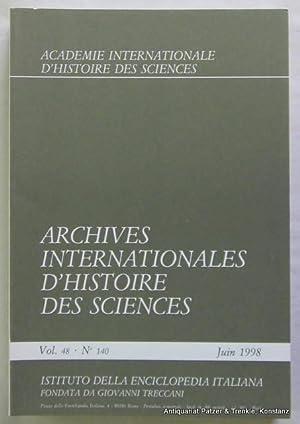 Vol. 48/1998. 2 Bände. Roma, Istituto della: Archives Internationales d'Histoire