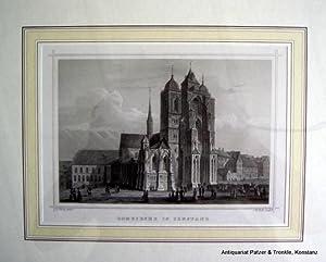 """Domkirche in Constanz"""". Münster U.L.F. Ansicht von: Ansichten. -- Konstanz."""