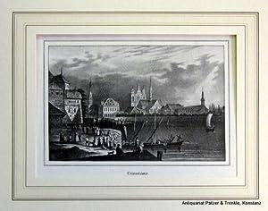Ansicht vom Hafen auf das alte Rathaus: Ansichten. -- Konstanz.