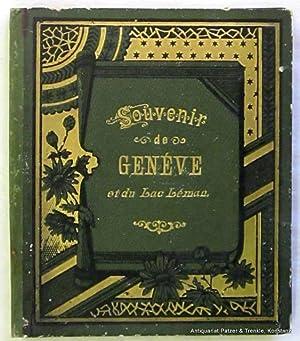 Deckeltitel). Anonymes Ansichtenalbum in Leporelloform. O.O.u.J. (Genf: Souvenir de Genève